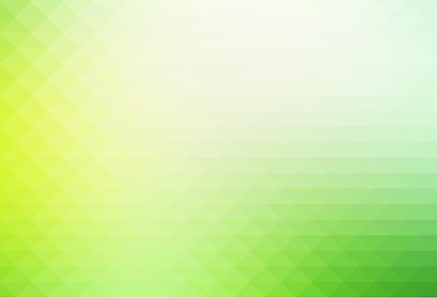 Jasnozielone odcienie rzędów tła trójkątów