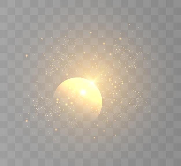 Jasny błysk migoczącego światła