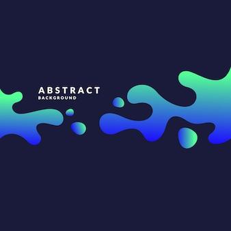 Jasny plakat z rozpryskami. ilustracja minimalistyczny styl