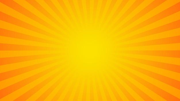 Jasny pomarańczowy promienie tło
