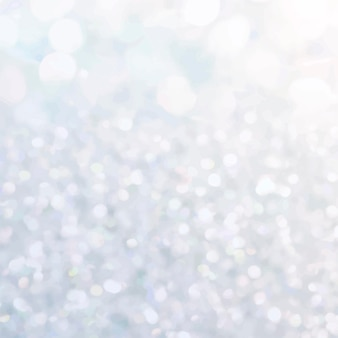 Jasny srebrny brokat teksturowany wektor tła