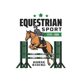 Jazda konna, sport jeździecki i bieg z przeszkodami