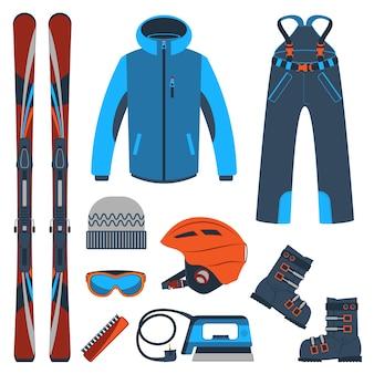 Jazda na nartach. ekstremalne sporty zimowe.