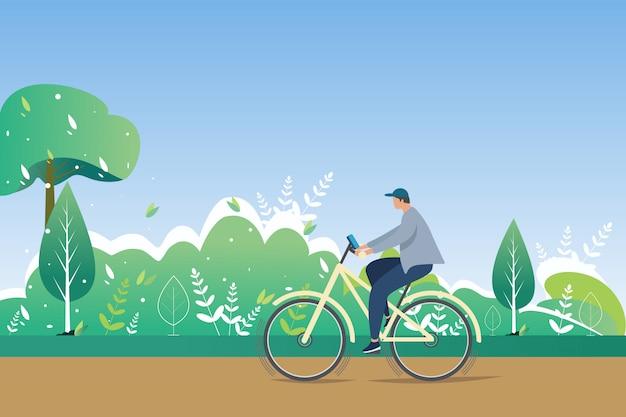 Jazda na rowerze w okresie letnim