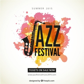 Jazz festiwal plakat