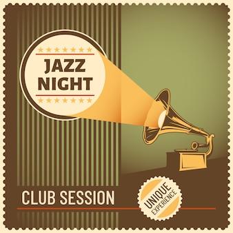 Jazzowy projekt tła