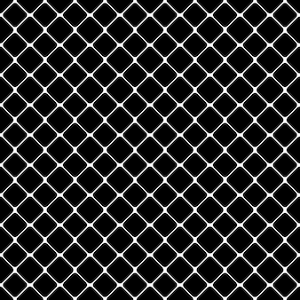 Jednolite streszczenie monochromatycznych kwadratowy wzór - wektor tle projektu z przekątnej zaokrąglone kwadraty