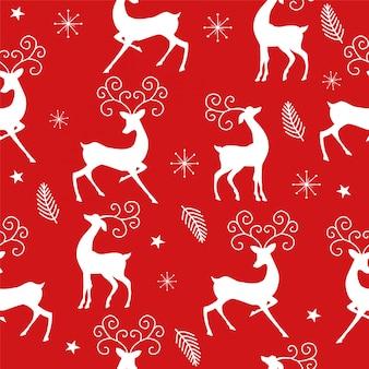 Jednolite wzór z jelenia.
