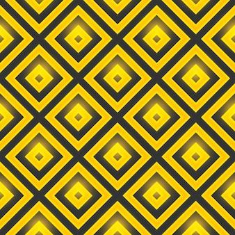 Jednolite wzór żółte diamenty