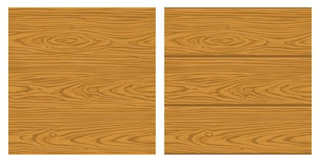Jednolity wzór brązowego drewna monochromatyczna ilustracja wektorowa