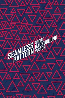 Jednolity wzór dla ekstremalnych drużyn jersey, wyścigów, jazdy na rowerze, legginsów, piłki nożnej, gier i sportowych barw.