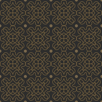 Jednolity wzór klasyczny kształt vintage