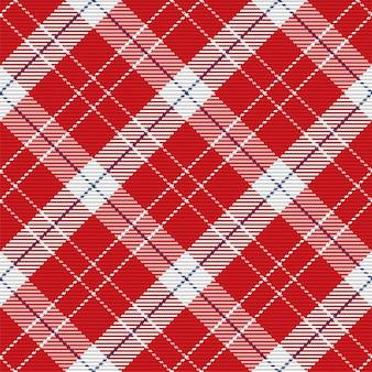 Jednolity wzór kratę w szkocką kratę. powtarzalne tło z teksturą tkaniny wyboru.