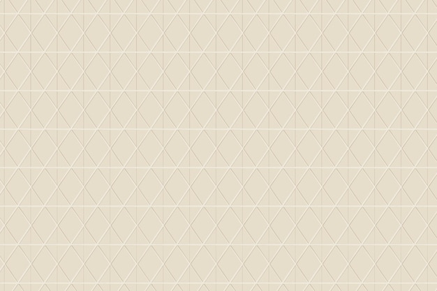Jednolity wzór rombu na beżowym tle