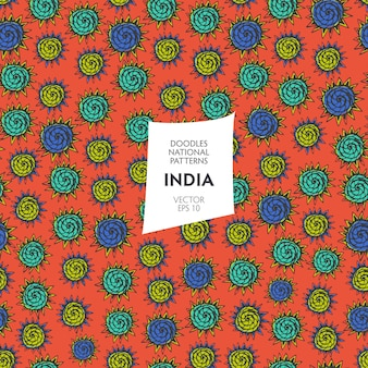 Jednolity wzór wydruku w indiach