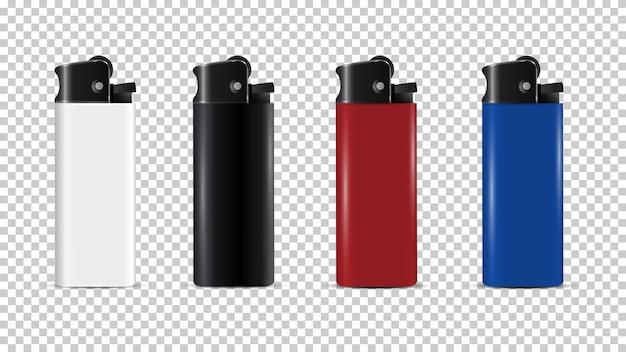 Jednorazowa realistyczna makieta plastikowej zapalniczki