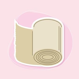 Jednorazowa rolka papieru