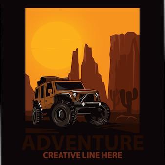 Jeep przygodowy