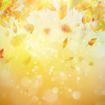 Jesień motywu tła.