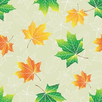 Jesień wzór tła