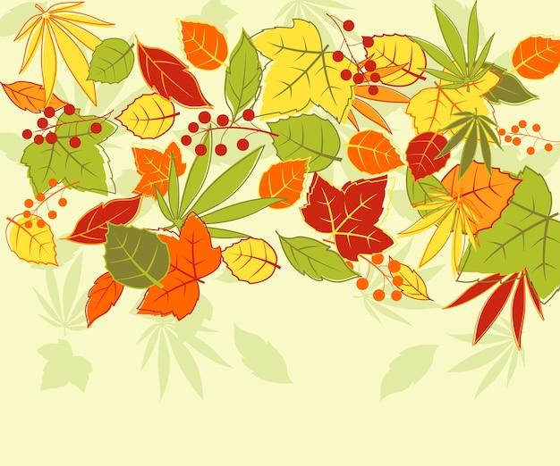 Jesienią tła