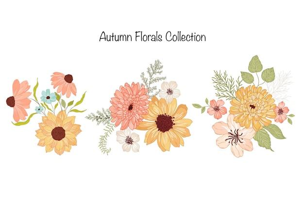 Jesienna kolekcja aranżacji kwiatowych