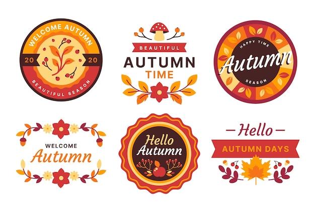 Jesienna kolekcja etykiet
