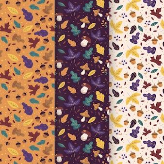 Jesienna kolekcja wzorów