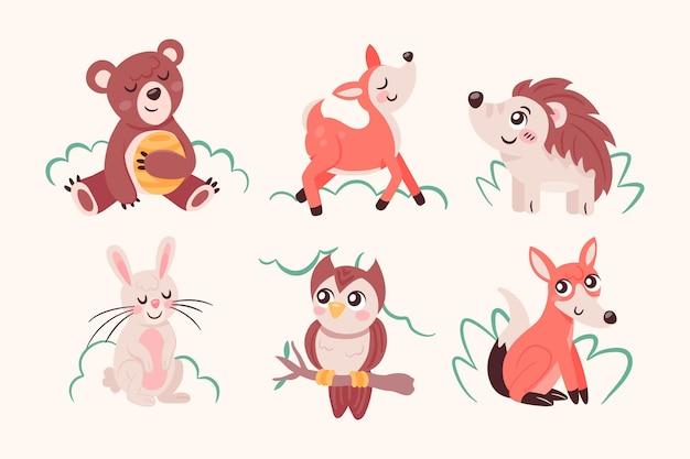 Jesienna kolekcja zwierząt