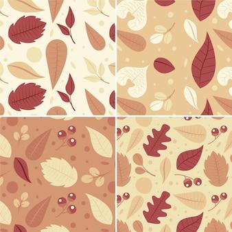 Jesienna paczka wzorów