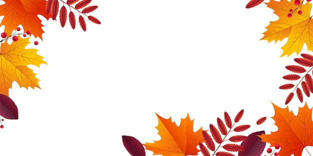 Jesienny liść tło.