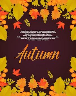 Jesienny plakat