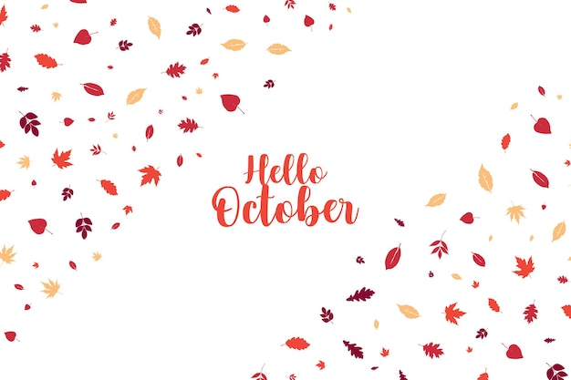Jesienny wzór jesienny
