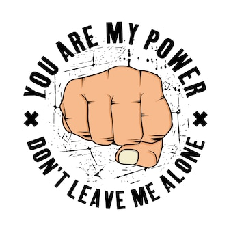 Jesteś moim projektem mocy