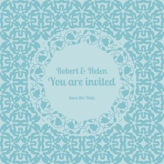 Jesteś zaproszony szablon karty ślubu