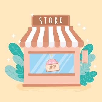 Jesteśmy otwarci na szyld w zewnętrznej witrynie sklepu