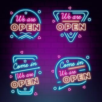 Jesteśmy otwartą kolekcją neonów