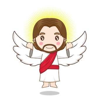 Jezus chrystus jako anioł