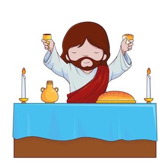 Jezus winogron