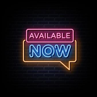 Już dostępne neony zaprojektuj szablon neonowy znak