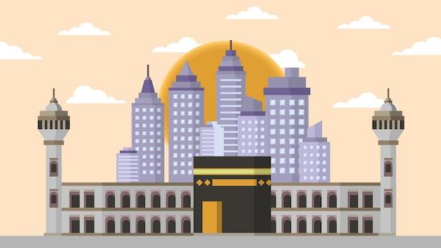 Kaaba mekka - słynny punkt orientacyjny