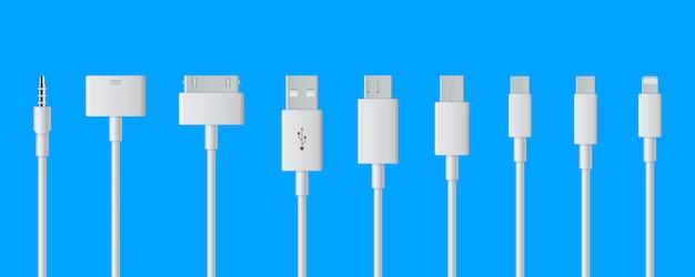 Kabel usb ładowania wtyczki, inteligentny telefon.
