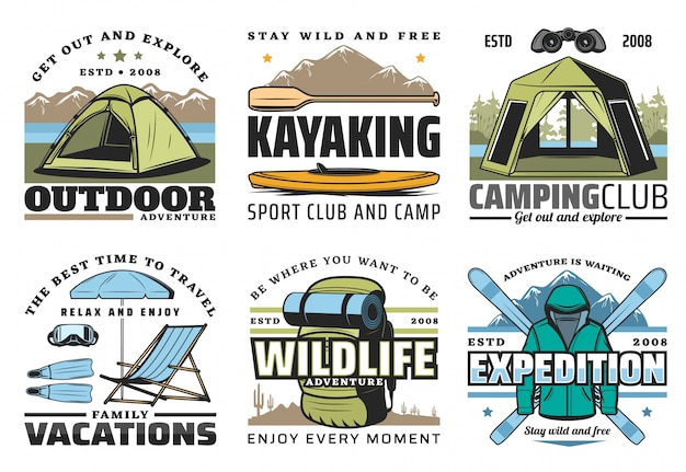 Kajakarstwo, camping, nurkowanie i turystyka piesza