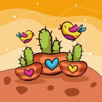 Kaktusowe ptaki