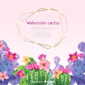 Kaktusowy tło