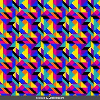 Kalejdoskop kolorowe tło