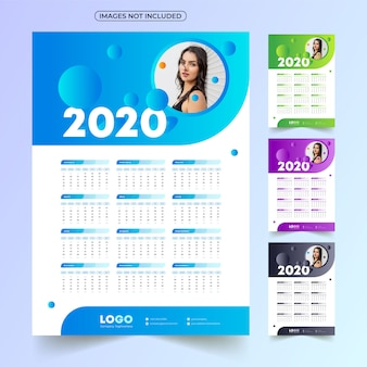 Kalendarz 2020 z obrazem