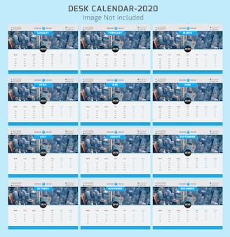 Kalendarz biurkowy 2020