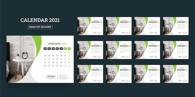 Kalendarz biurkowy 2021