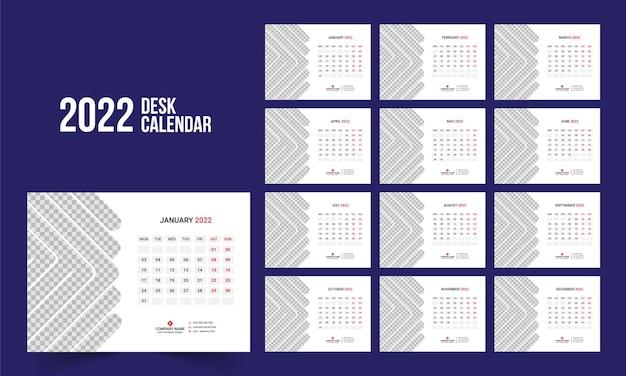 Kalendarz biurkowy 2022